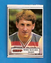 Ipswich Town Terry Butcher England